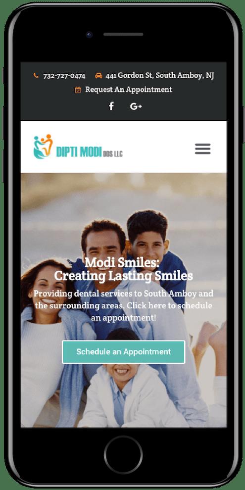 Mobile Friendly Dental Websites